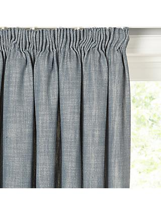 Croft Collection Skye Pair Lined Pencil Pleat Curtains
