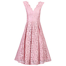 Buy Jolie Moi Scalloped V-Neck Lace Prom Dress Online at johnlewis.com