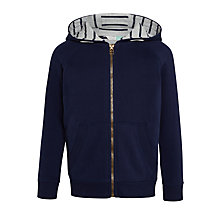 Buy John Lewis Boys' Core Hoodie, Peacoat Online at johnlewis.com