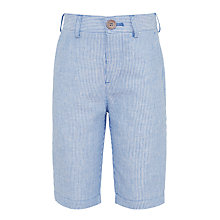 Buy John Lewis Heirloom Collection Boys' Ticking Stripe Shorts, Blue Online at johnlewis.com
