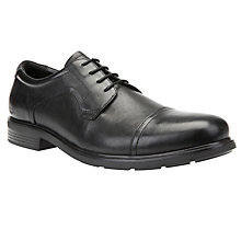 Buy Geox Dublin Derby Shoes, Black Online at johnlewis.com