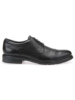Geox Dublin Derby Shoes, Black