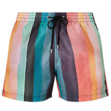 Buy Paul Smith Artist Stripe Swim Shorts, Multi Online at johnlewis.com