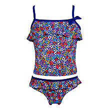 Buy John Lewis Girls' Floral Tankini Set, Multi Online at johnlewis.com