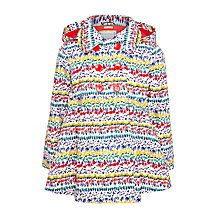 Buy John Lewis Girls' Floral Swing Mac, Multi Online at johnlewis.com