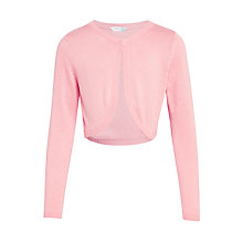 Buy John Lewis Girls' Lead In Shrug Online at johnlewis.com