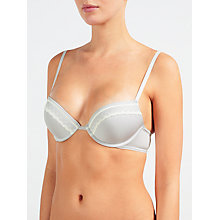 Buy Calvin Klein Underwear Signature Push Up Bra, Wonder Online at johnlewis.com