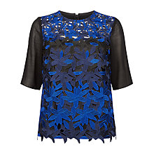 Buy Fenn Wright Manson Petite Planet Top, Black/Blue Online at johnlewis.com