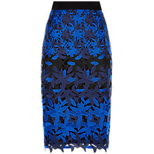 Buy Fenn Wright Manson Petite Planet Skirt, Black/Blue Online at johnlewis.com