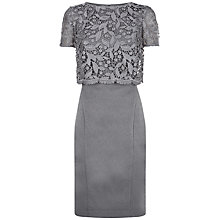 Buy Fenn Wright Manson Petite Rockwell Dress, Grey Online at johnlewis.com