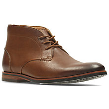 Buy Clarks Broyd Chukka Boots, Brown Online at johnlewis.com