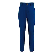 Buy John Lewis Heirloom Collection Boys' Cotton Sateen Suit Trousers, Blue Online at johnlewis.com