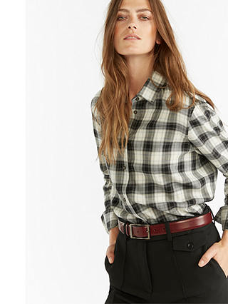 Buy Gerard Darel Sophia Blouse, Black, 16 Online at johnlewis.com