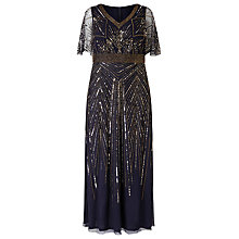 Buy Studio 8 Harmony Dress, Navy Online at johnlewis.com