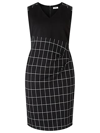 Studio 8 Naomi Dress, Black/White