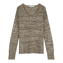 Buy Gerard Darel Sierra Jumper, Beige Online at johnlewis.com