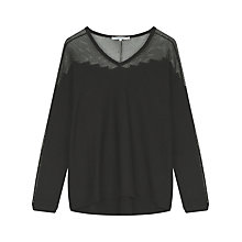 Buy Gerard Darel Brise Jumper, Black Online at johnlewis.com