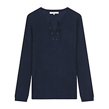 Buy Gerard Darel Tahoe Jumper, Navy Blue Online at johnlewis.com