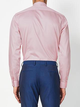 Men/'s T-Shirt Shirt Pink Pink Slim Fit John Kayna