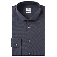 Buy Kin by John Lewis End on End Slim Fit Shirt, Grey Online at johnlewis.com