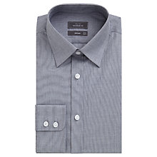 Buy John Lewis End on End Cotton Tailored Shirt, Grey Online at johnlewis.com