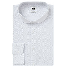 Buy Kin by John Lewis Polka Dot Slim Fit Shirt, White Online at johnlewis.com