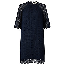 Buy Somerset by Alice Temperley Lace Dress, Blue Online at johnlewis.com