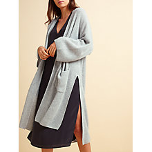 Buy Modern Rarity Lofty Cashmere Cardigan, Grey Online at johnlewis.com