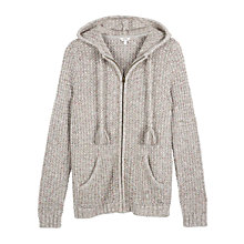 Buy Fat Face Alice Textured Hoody Online at johnlewis.com