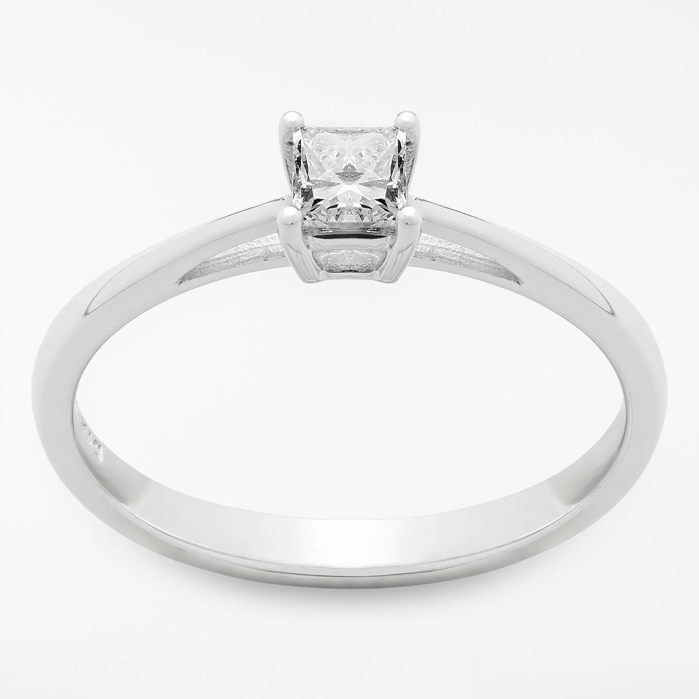 princess cut in f d g engagement twt rings wedding diamond sidestones certified white gold ring ct