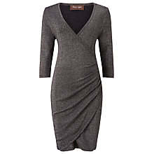Buy Phase Eight Maisie Shimmer Dress, Gunmetal Online at johnlewis.com