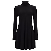 Buy Phase Eight Melody Swing Tunic Dress, Black Online at johnlewis.com