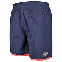 "Buy Speedo Colour Block 16"" Watershorts Online at johnlewis.com"