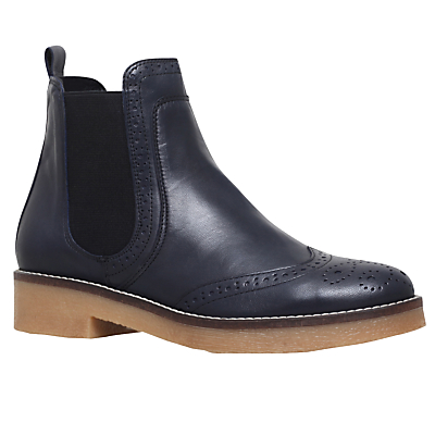 Product photo of Carvela slowest block heeled ankle boots navy