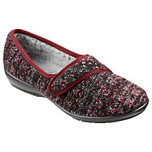 Buy Hotter Thymes Rip Tape Slippers Online at johnlewis.com