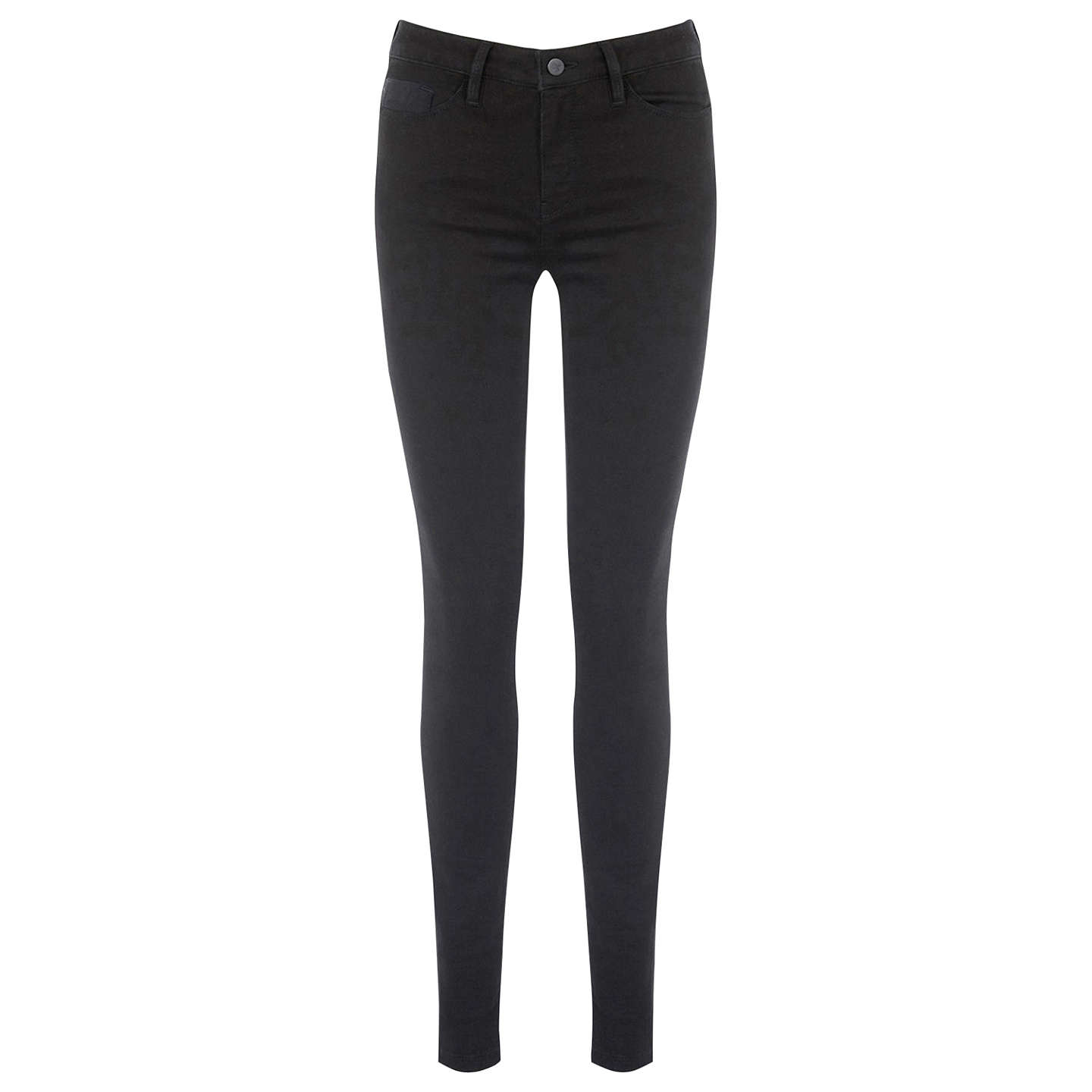 BuyWarehouse The Skinny Cut Jean , Black, 34R Online at johnlewis.com