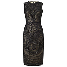 Buy Phase Eight Bethan Dress, Black Online at johnlewis.com
