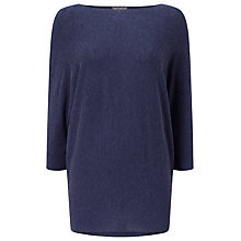 Buy Phase Eight Becca Batwing Jumper, Denim Marl Online at johnlewis.com