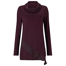 Buy Phase Eight Melinda Woven Hem Roll Neck Jumper Online at johnlewis.com