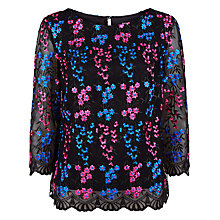 Buy Fenn Wright Manson Miranda Top, Black Online at johnlewis.com