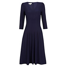 Buy Hobbs Venise Dress, Midnight Online at johnlewis.com