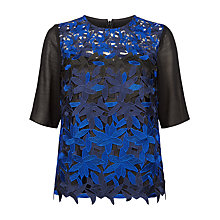 Buy Fenn Wright Manson Planet Top, Black/Blue Online at johnlewis.com