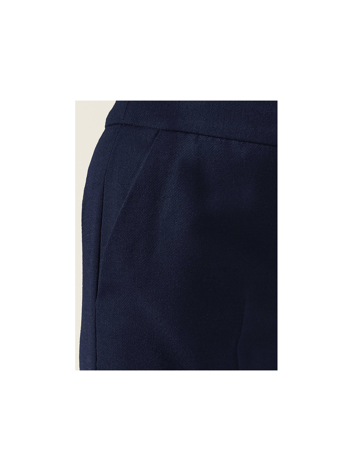 BuyHobbs Winter Gael Tailored Trousers, Navy, 6 Online at johnlewis.com