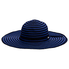 Buy Seafolly Shady Lady Hat, Indigo Online at johnlewis.com