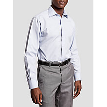 Buy Thomas Pink Patterson Stripe Slim Fit Shirt, Pale Blue/Pink Online at johnlewis.com