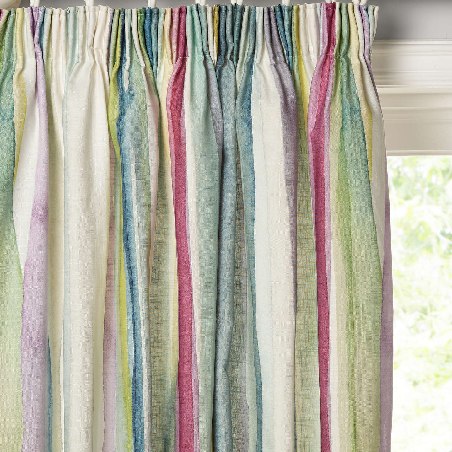 Bluebellgray Lomond Pair Lined Pencil Pleat Curtains by Bluebellgray