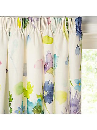 bluebellgray Tetbury Pair Lined Pencil Pleat Curtains