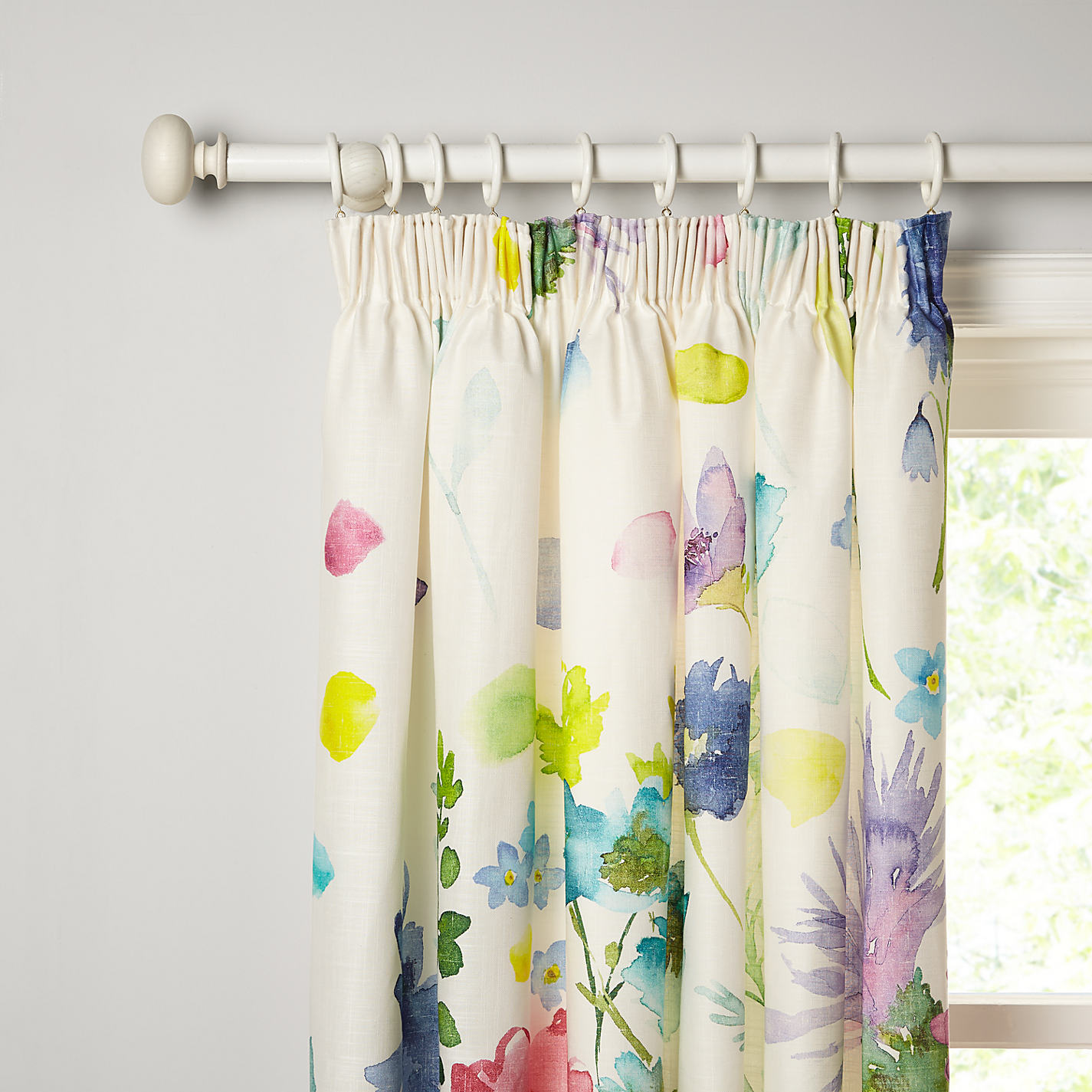 Buy Bluebellgray Tetbury Pair Lined Pencil Pleat Curtains Online At Johnlewis