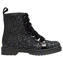 Buy Mini Miss KG Children's Midnight Boots, Black Online at johnlewis.com