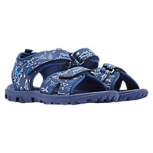 Buy Little Joule Children's Rock Active Sandals, Navy Online at johnlewis.com